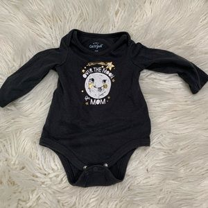 Over the moon 🌚 for mom Cat & Jack onesie